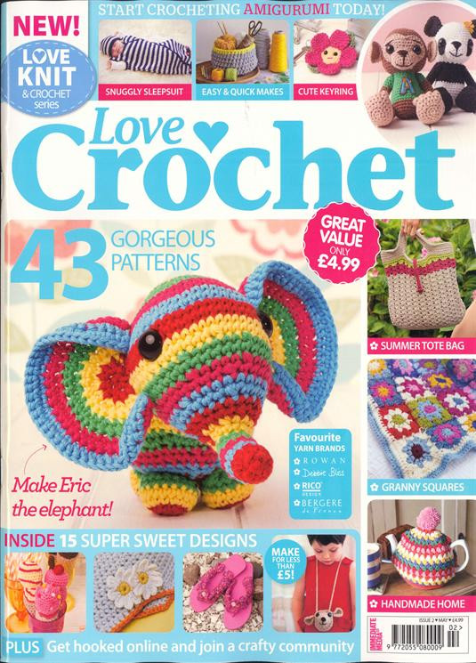 Awesome Buy Single Magazine issues and Subscriptions Newsstand Love Crochet Magazine Of Wonderful 48 Pictures Love Crochet Magazine