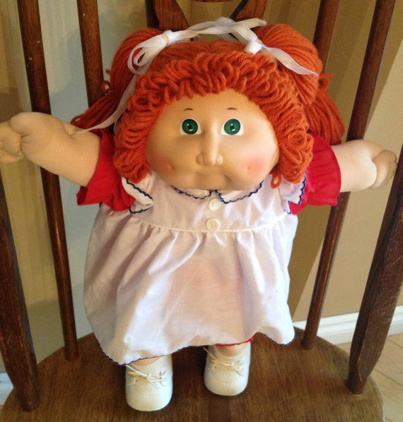 Cabbage Patch Kid Doll E Vintage Collectible by