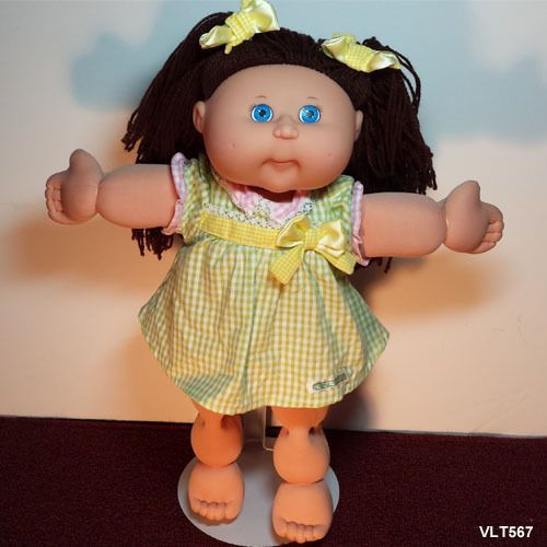 Awesome Cabbage Patch Kids Cpk Girl Doll Brown Hair Blue Eyes Cabbage Patch Kids for Sale Of Marvelous 47 Pics Cabbage Patch Kids for Sale