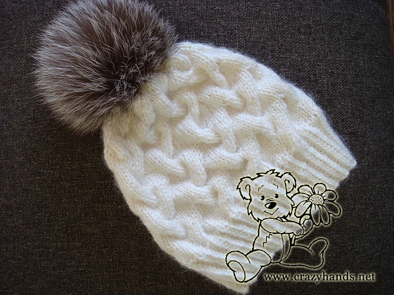 Awesome Cable Knit Hat Pattern for Winter · Crazy Hands Knitting Cable Knit Hat Of Fresh 40 Pics Cable Knit Hat