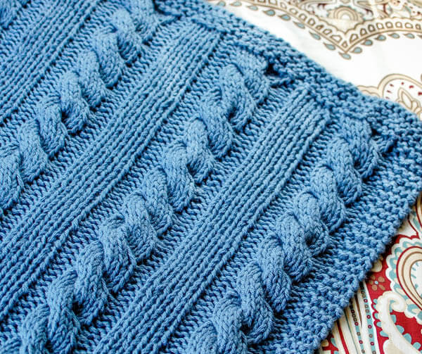 Awesome Cables and Columns Free Knit Blanket Pattern Free Blanket Knitting Patterns Of Perfect 42 Photos Free Blanket Knitting Patterns