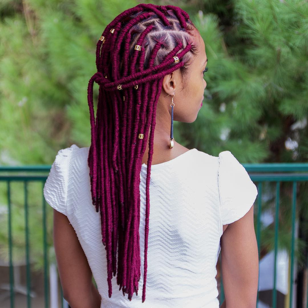 Awesome Can Faux Locs Be Really Short Hair Burgundy Faux Locs Crochet Of Beautiful 41 Models Burgundy Faux Locs Crochet