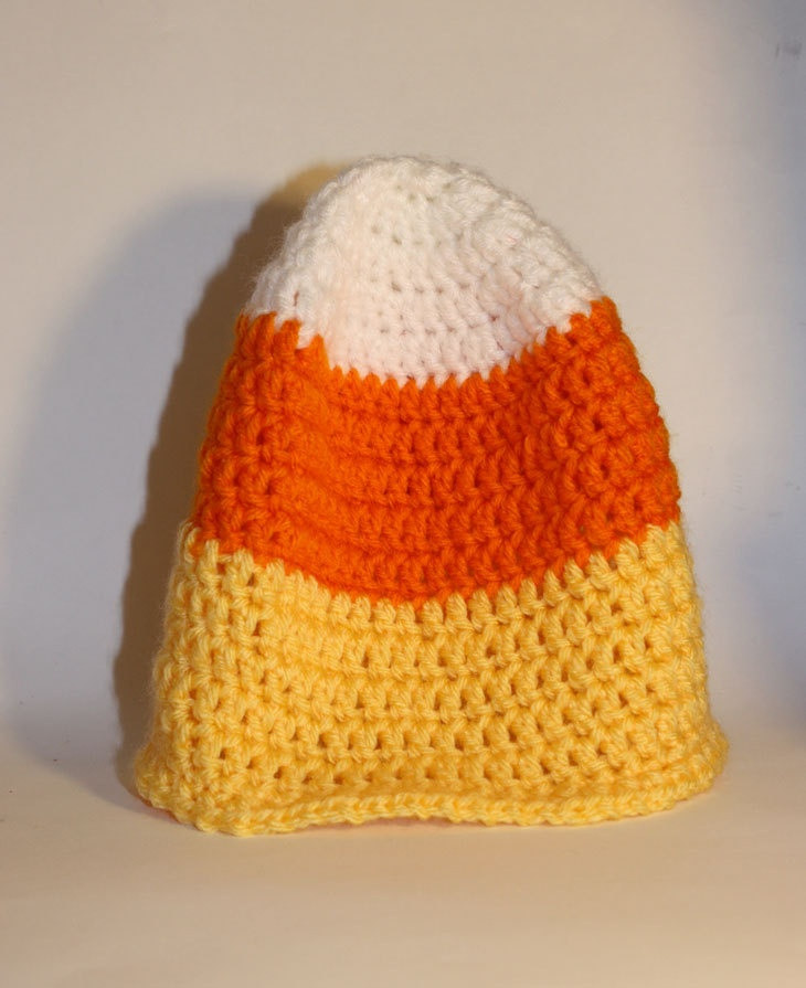 Awesome Candy Corn Halloween Crochet Hat Candy Corn Hat Of Incredible 42 Pictures Candy Corn Hat