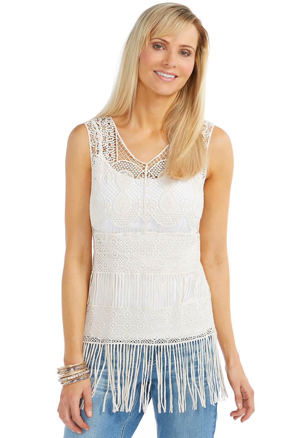Awesome Cato Fashions Crochet Tank Of Delightful 47 Images Crochet Tank