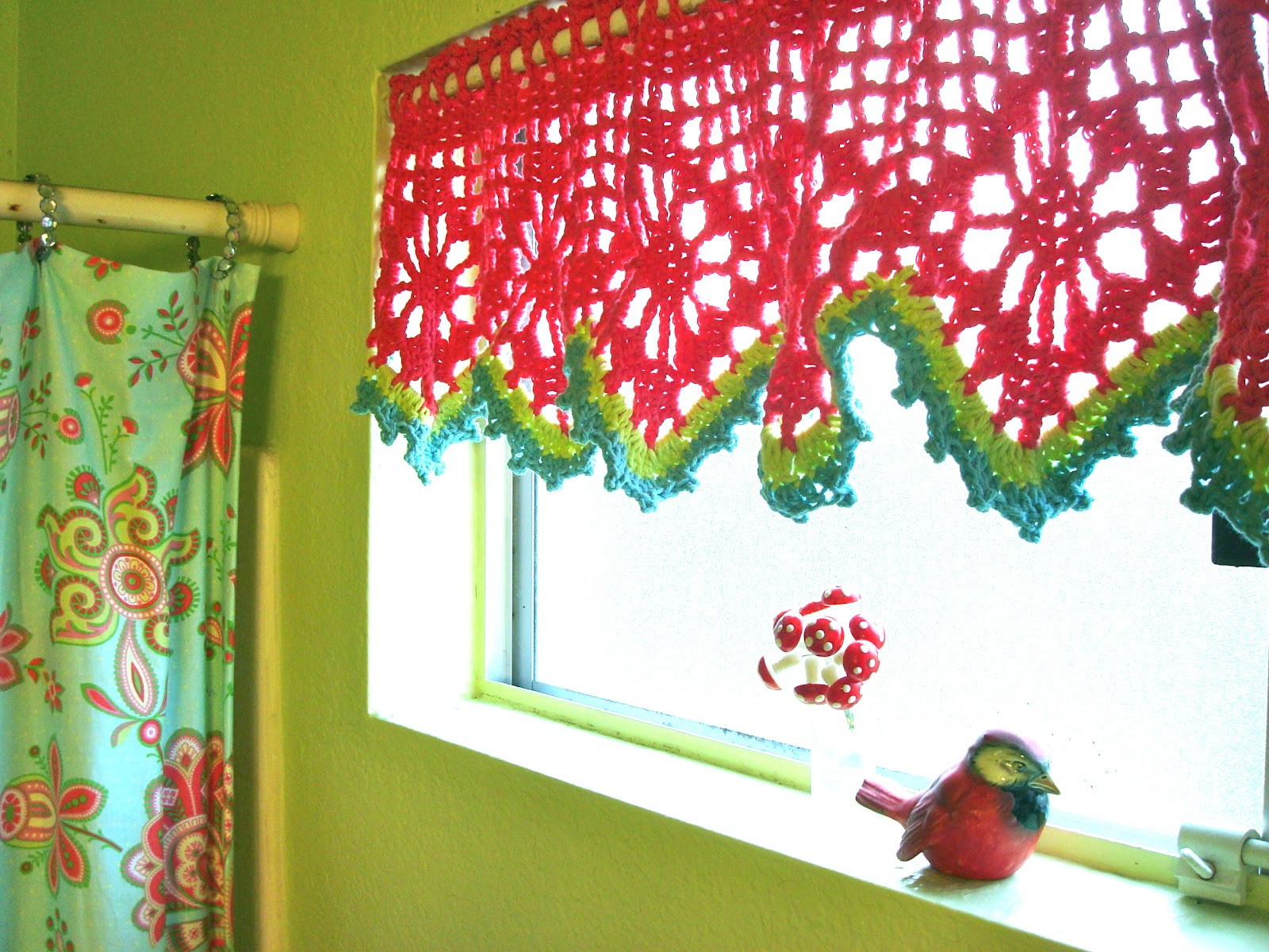 Awesome Ce Upon A Pink Moon Put the Hook Down Crochet Curtains Of Marvelous 47 Pictures Crochet Curtains