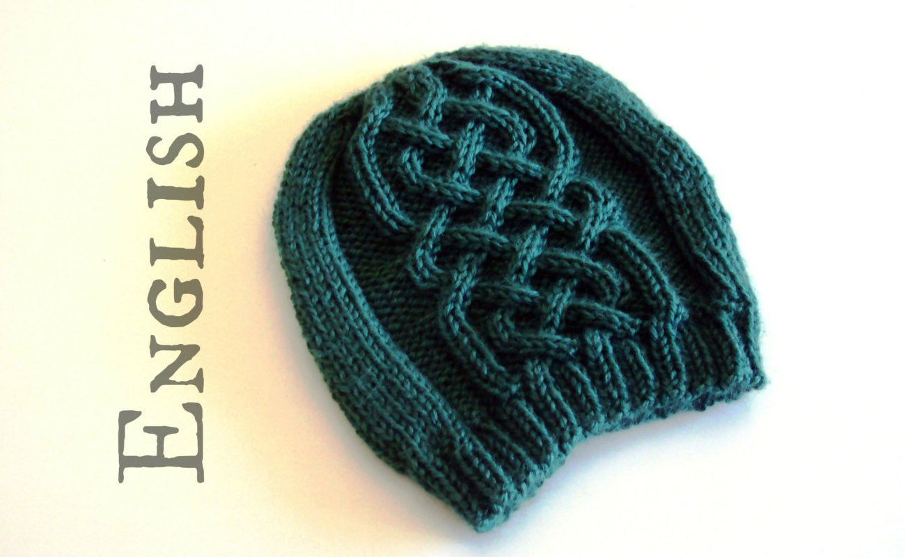 Awesome Celtic Beanie Knittig Pattern Celtic Cables Hat Knitting Cable Hat Of Superb 40 Pictures Cable Hat