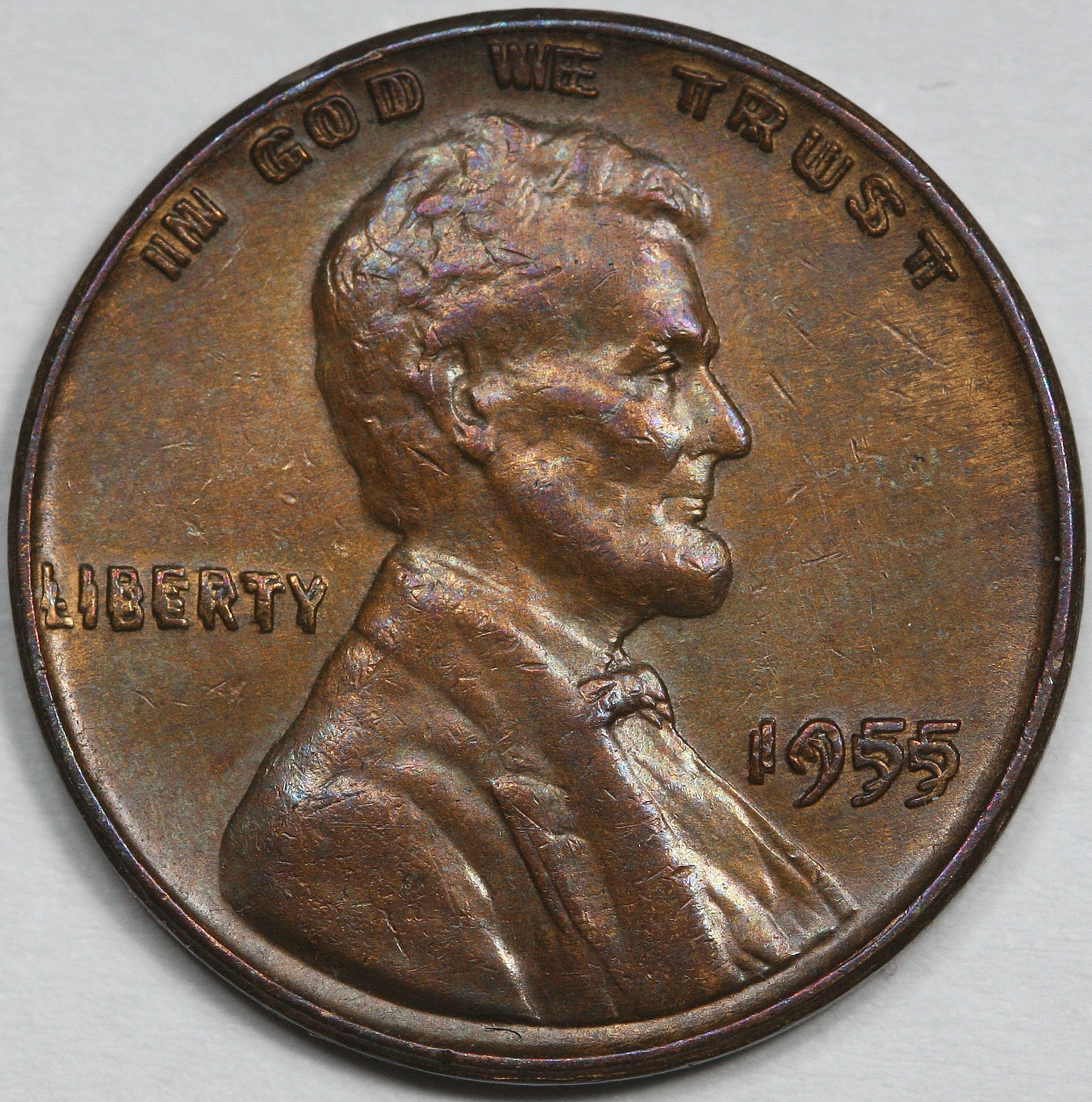 Awesome Cent Lincoln Die Doubled 1955 Upcscavenger Double Die Penny Value Of Wonderful 48 Pictures Double Die Penny Value