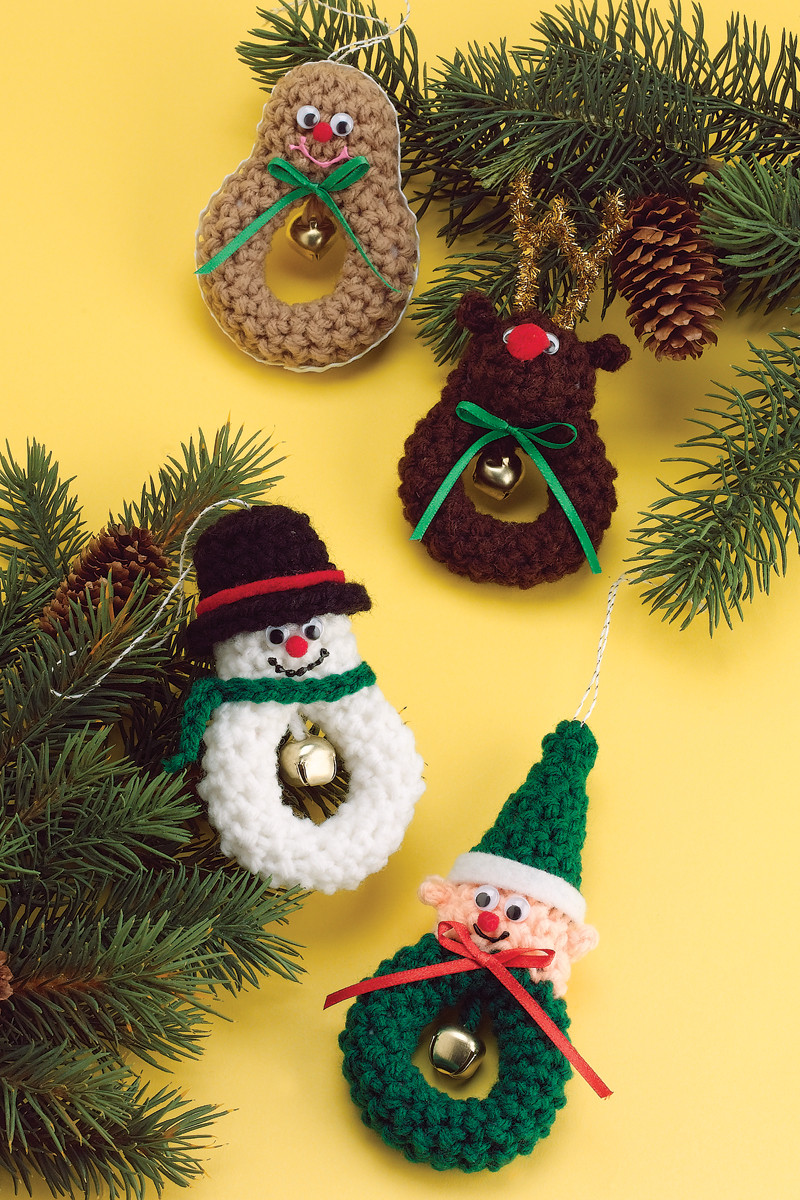 Awesome Character Christmas Crochet Pattern – Crochet Patterns Crochet Christmas Tree ornaments Of Innovative 41 Photos Crochet Christmas Tree ornaments