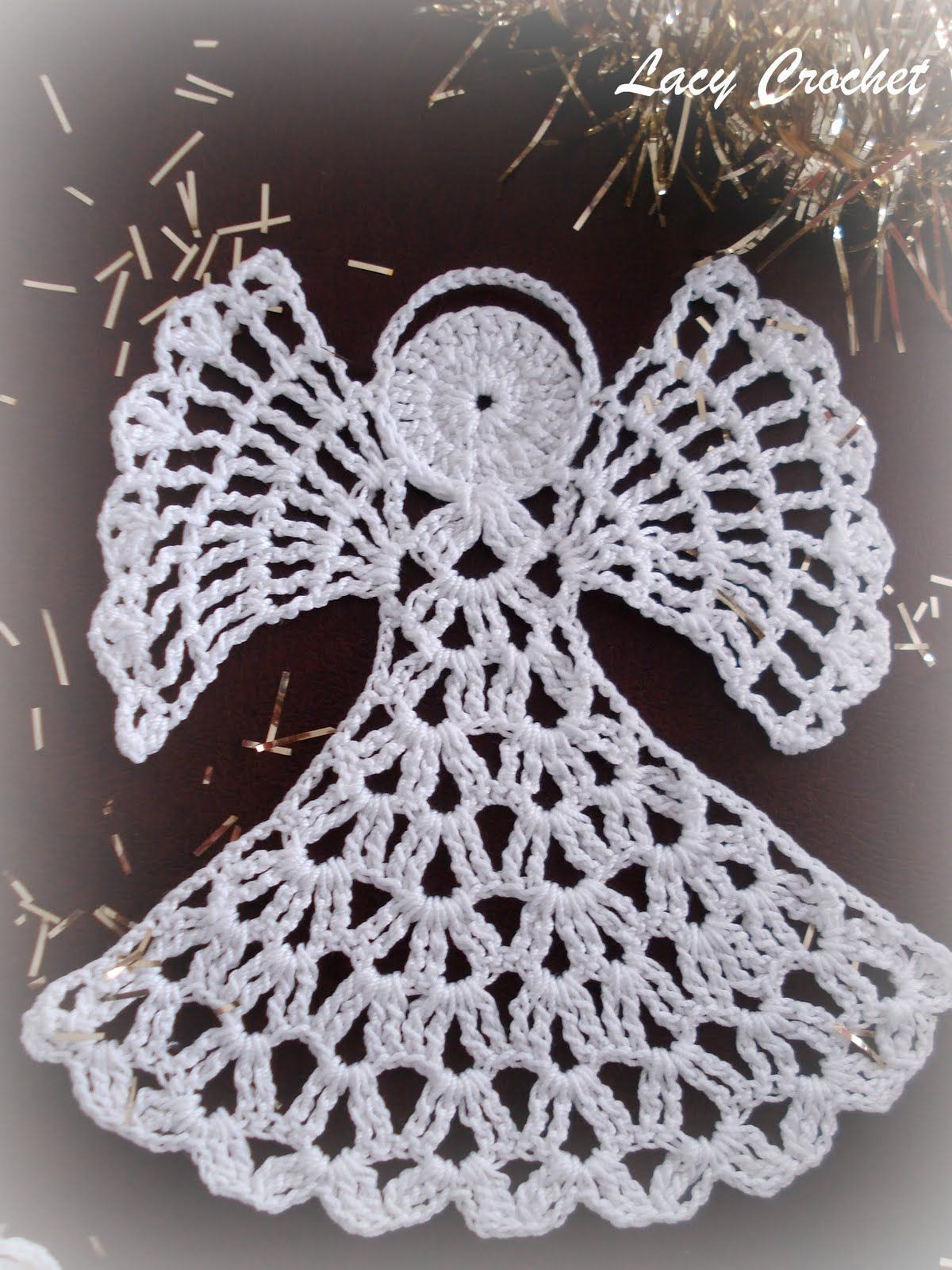 Awesome Christmas Angel ornament Free Crochet Pattern Crochet Thread Size 10 Free Patterns Of Delightful 50 Models Crochet Thread Size 10 Free Patterns