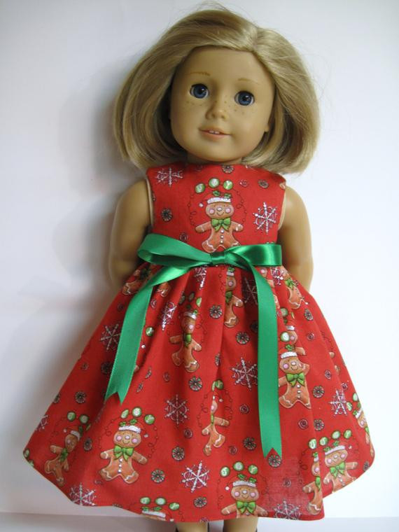 Awesome Christmas Dress for American Girl Doll American Girl Christmas Dress Of Lovely 47 Models American Girl Christmas Dress