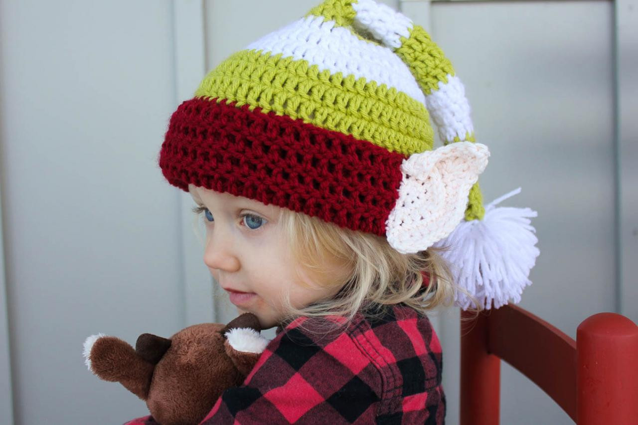 Awesome Christmas Hats for Newborn to Adult Free Crochet Patterns Crochet Baby Hat with Ears Of Lovely 43 Pics Crochet Baby Hat with Ears