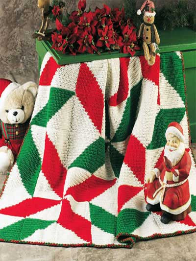 Awesome Christmas In July – More Christmas Afghans to Crochet Free Christmas Crochet Afghan Patterns Of Luxury 43 Ideas Free Christmas Crochet Afghan Patterns