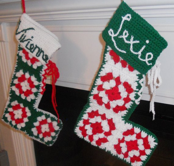 Awesome Christmas Stocking Pattern Retro Granny Square Crochet Granny Square Christmas Stocking Crochet Pattern Of Amazing 44 Pics Granny Square Christmas Stocking Crochet Pattern