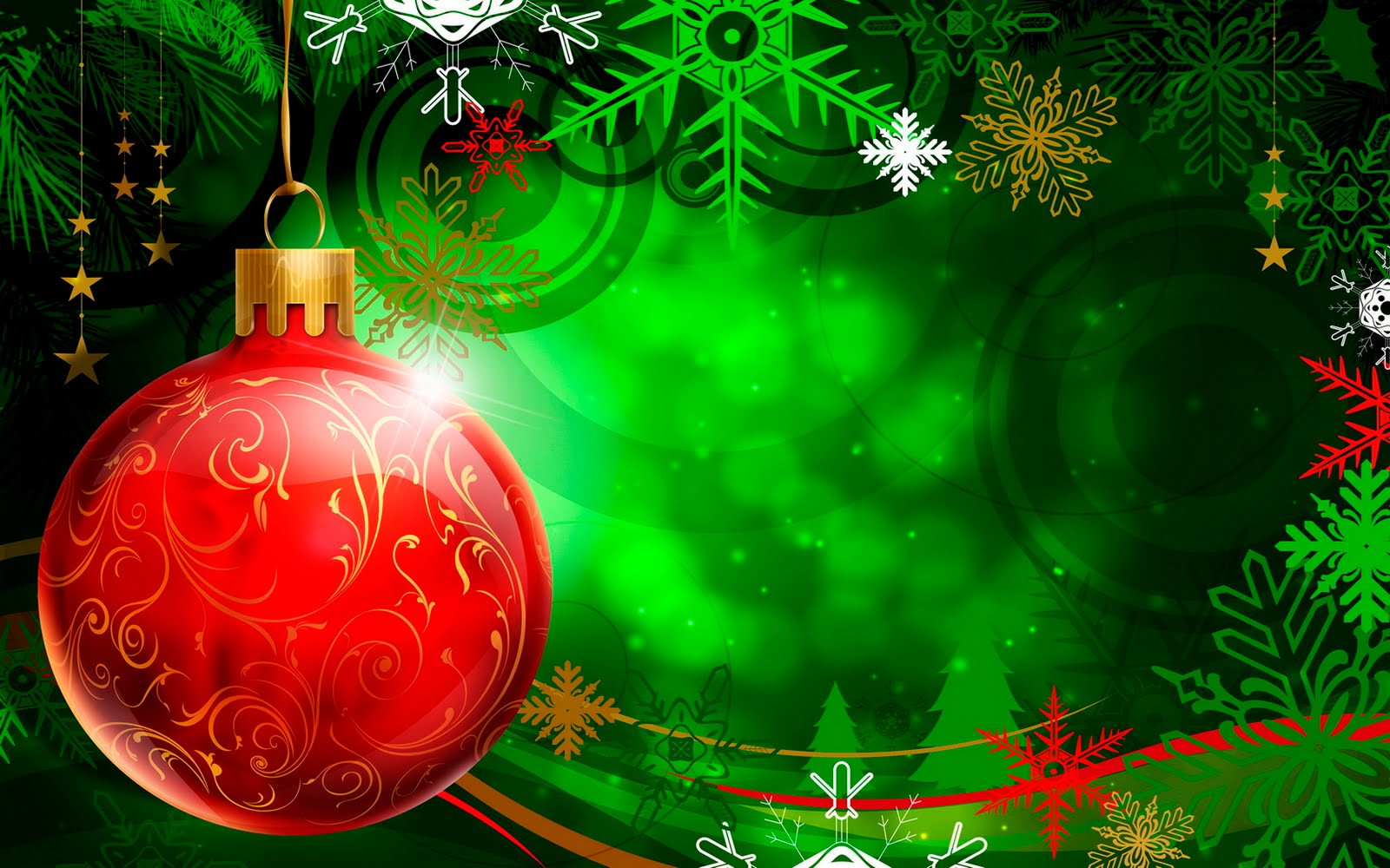 Christmas Vector Decorations Wallpapers
