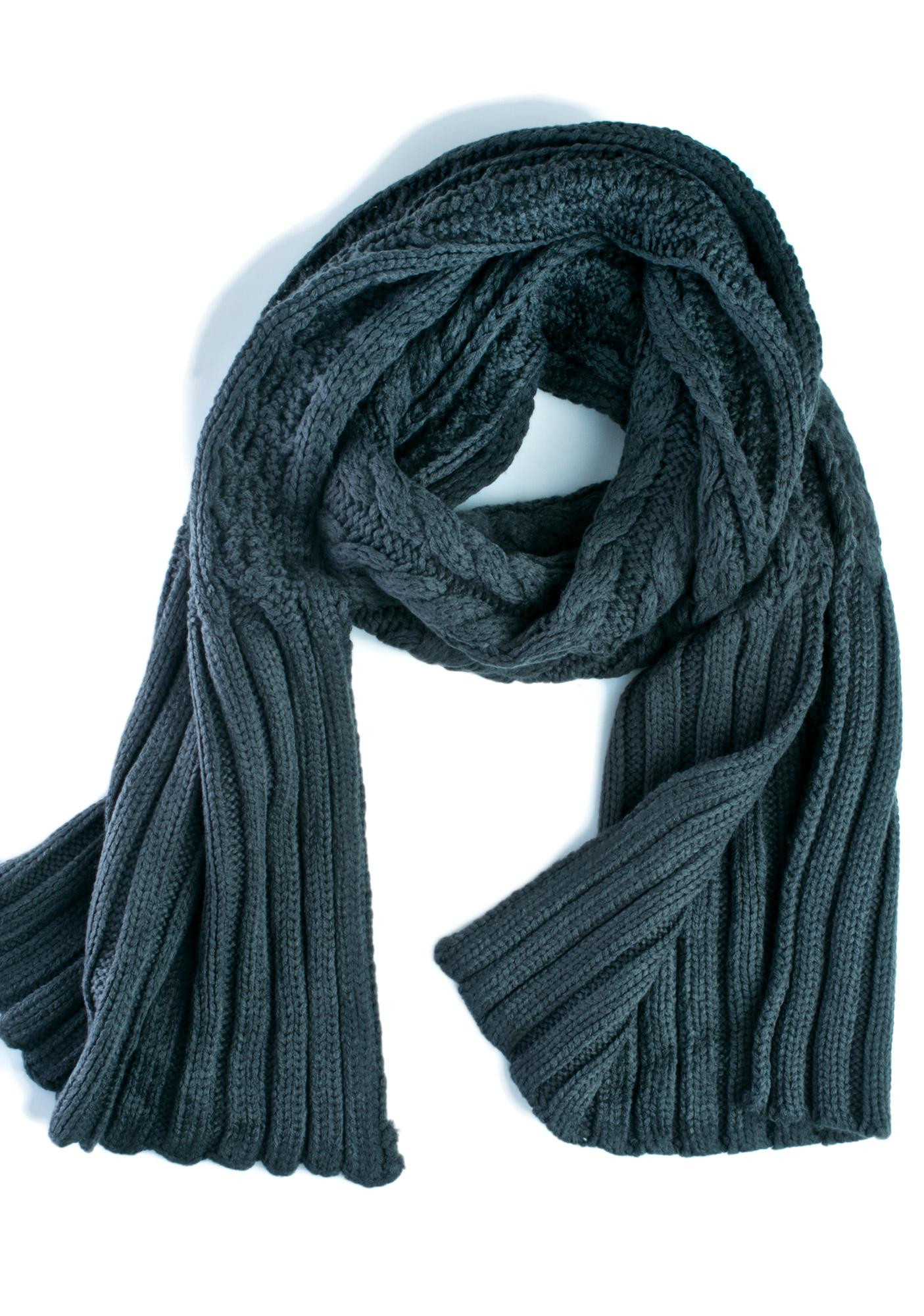Awesome Chunky Cable Knit Green Scarf Cable Scarf Of Innovative 49 Ideas Cable Scarf