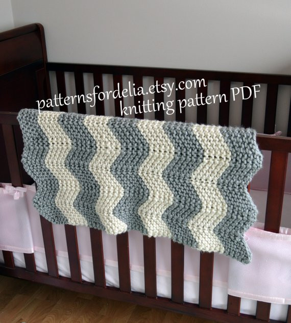 Awesome Chunky Chevron Baby Blanket Knitting Pattern Easy Beginner Zig Baby Blanket Knitting Pattern for Beginners Of Brilliant 49 Ideas Baby Blanket Knitting Pattern for Beginners