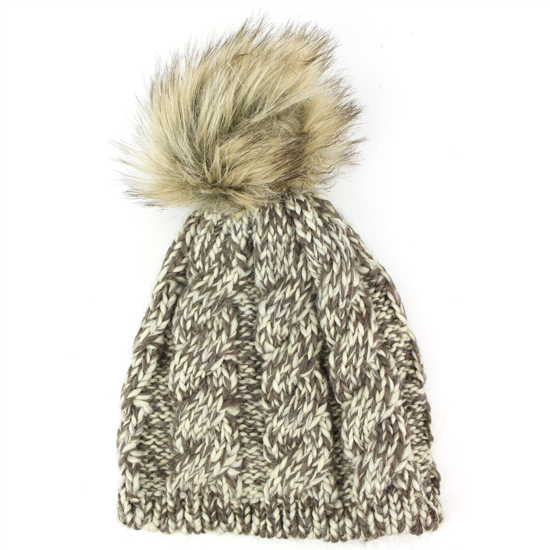Awesome Chunky Hat Knit Beanie La S Knitted Winter Pom Bobble Chunky Knit Hat Of Delightful 46 Pictures Chunky Knit Hat
