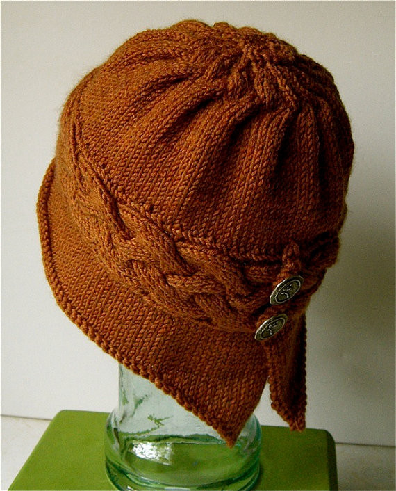 Awesome Cloche Hat Free Knitting Patterns Knit Cloche Hat Of Attractive 40 Photos Knit Cloche Hat