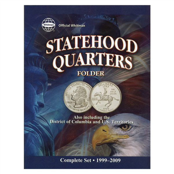 Awesome Coin Folder State Quarters 1999 2009 Whitman Brand State Quarter Set Value Of Luxury Mint Statehood Quarter Errors State Quarter Set Value