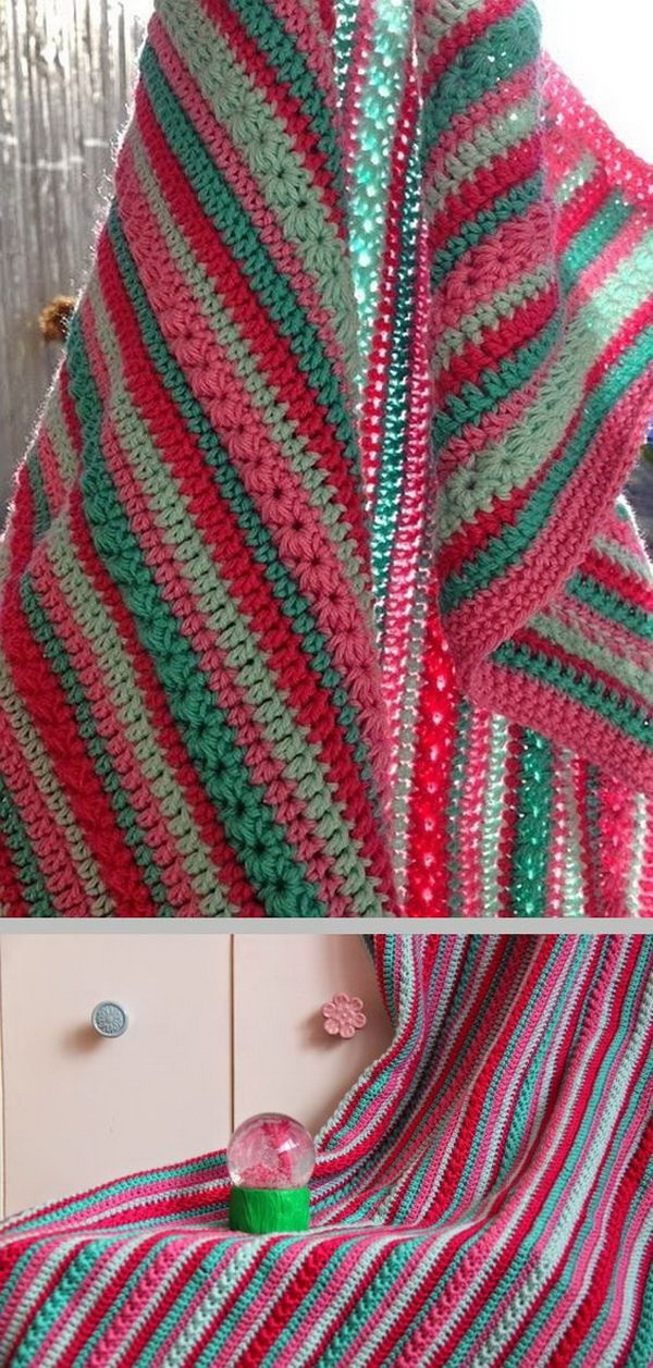 Awesome Cool & Easy Crochet Blankets with Lots Of Tutorials and Easy Crochet Stitches for Blankets Of Great 41 Photos Easy Crochet Stitches for Blankets