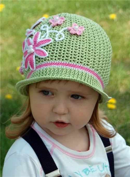 Awesome Cool Creativity — Diy Crochet Pretty Panama Hat for Girls Crochet Little Girl Hats Of Charming 40 Images Crochet Little Girl Hats