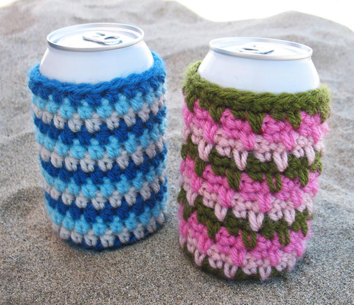 Awesome Cool Crochet Can Cozies Can Cozy Of Wonderful 48 Pictures Can Cozy
