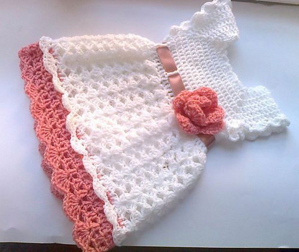 Awesome Cool Crochet Patterns & Ideas for Babies Hative Crochet Newborn Dress Of Perfect 42 Images Crochet Newborn Dress