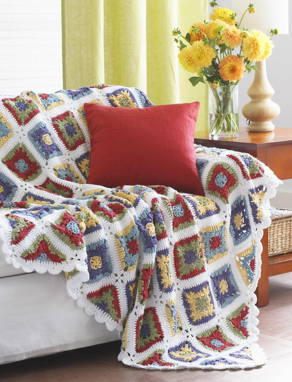 Awesome Country Charm Crochet Blanket Pattern Motif Blanket Of Contemporary 49 Models Motif Blanket