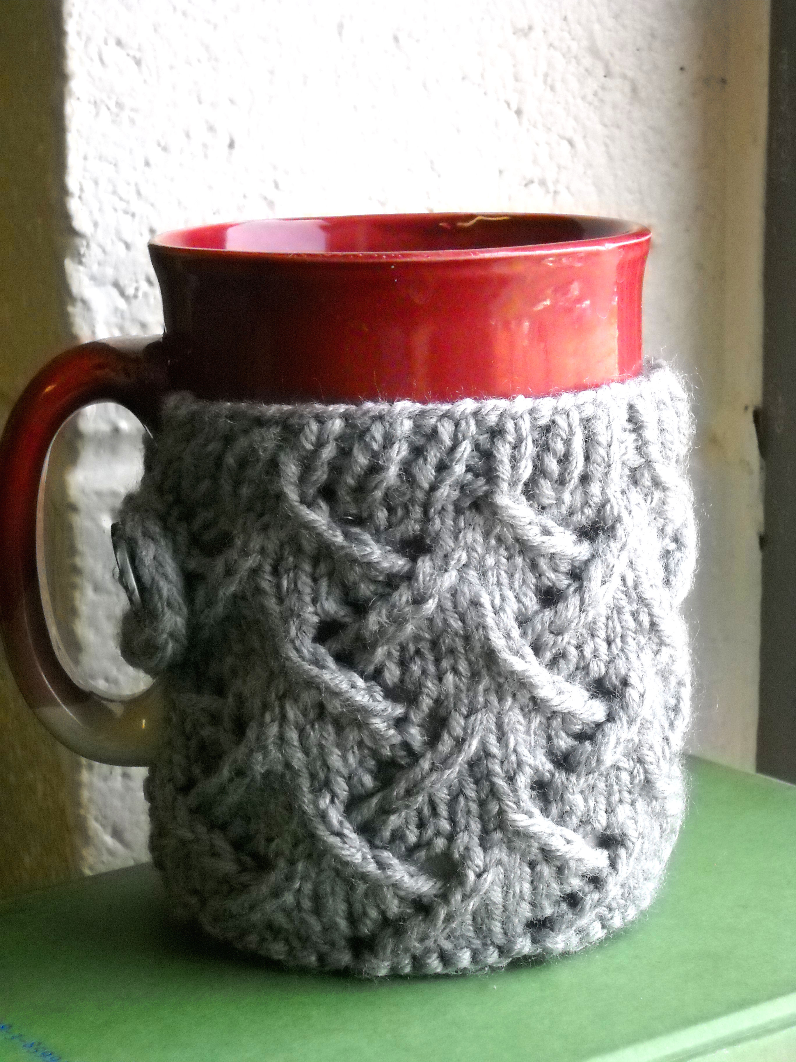 Awesome Cover Up that Ugly Mug Knitted Mug Cozy Of Unique 48 Photos Knitted Mug Cozy