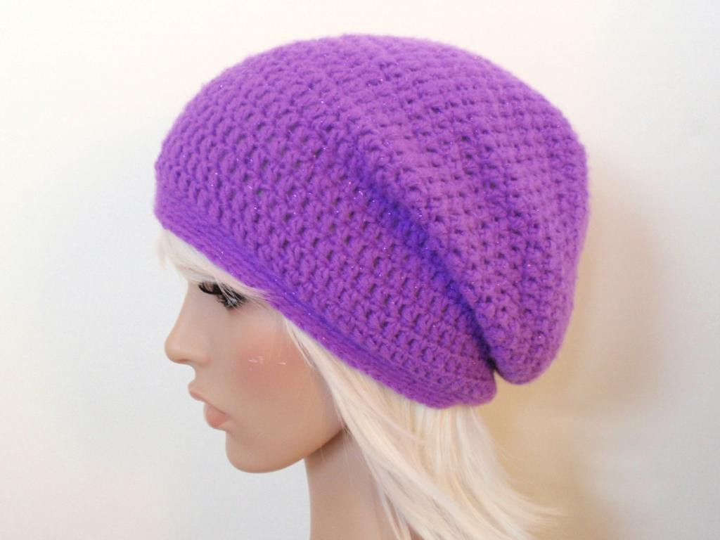 Awesome Craftdrawer Crafts Free Easy to Crochet Hat Patterns for Free Crochet Slouchy Hat Patterns Of Amazing 50 Pictures Free Crochet Slouchy Hat Patterns