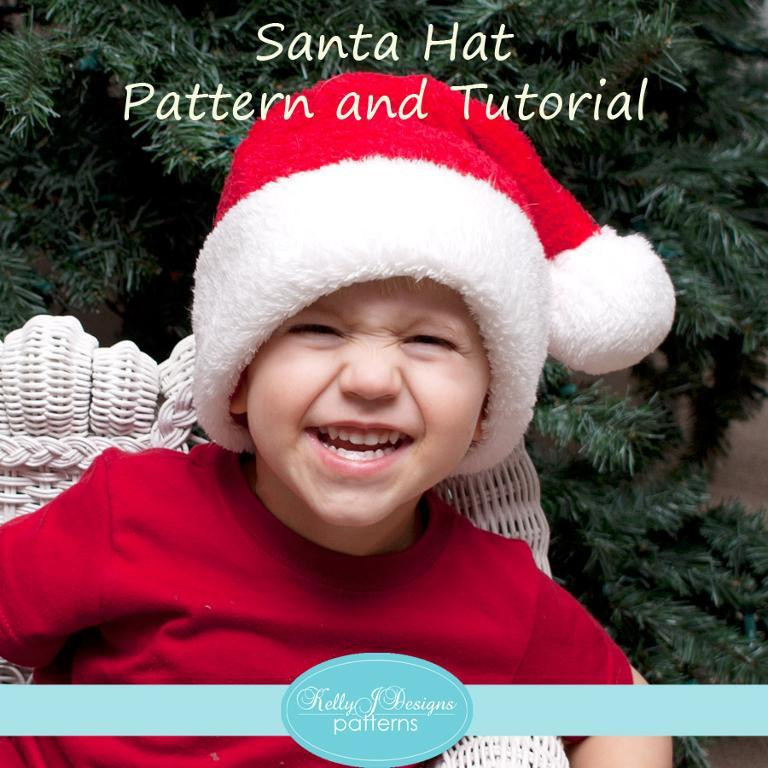 Awesome Craftdrawer Crafts Santa Hat Pattern and Tutorial Free Santa Hat Pattern Of Unique Baby Santa Hats – Tag Hats Santa Hat Pattern