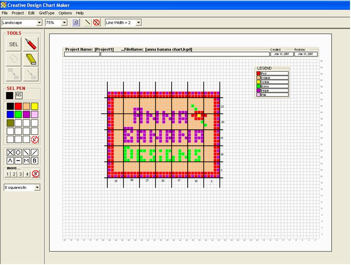 Awesome Creative Design Chartmaker Create Design Charts for Free Crochet Graph Maker Of Incredible 46 Models Free Crochet Graph Maker