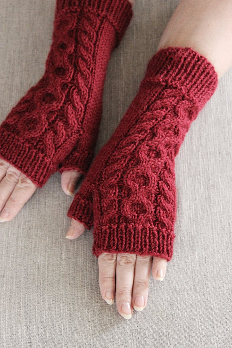 Awesome Crimson Arm Warmers Hand Knit Fingerless Mittens Women Wrist Knit Arm Warmers Of Brilliant 41 Images Knit Arm Warmers