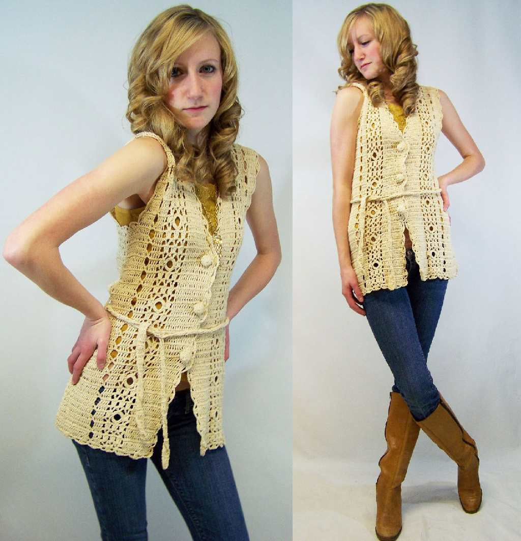 Awesome Crinochet All About Crochet Vests Vintage Crochet Vest Pattern Of Top 48 Images Vintage Crochet Vest Pattern