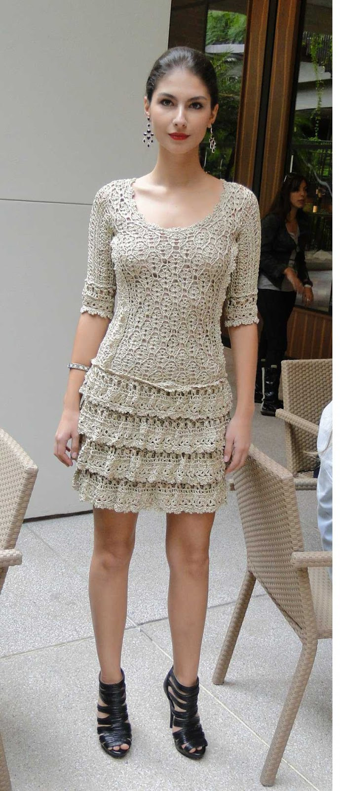 Awesome Crinochet Vanessa Montoro Crochet Dress Crochet Trim Dresses Of Attractive 47 Images Crochet Trim Dresses