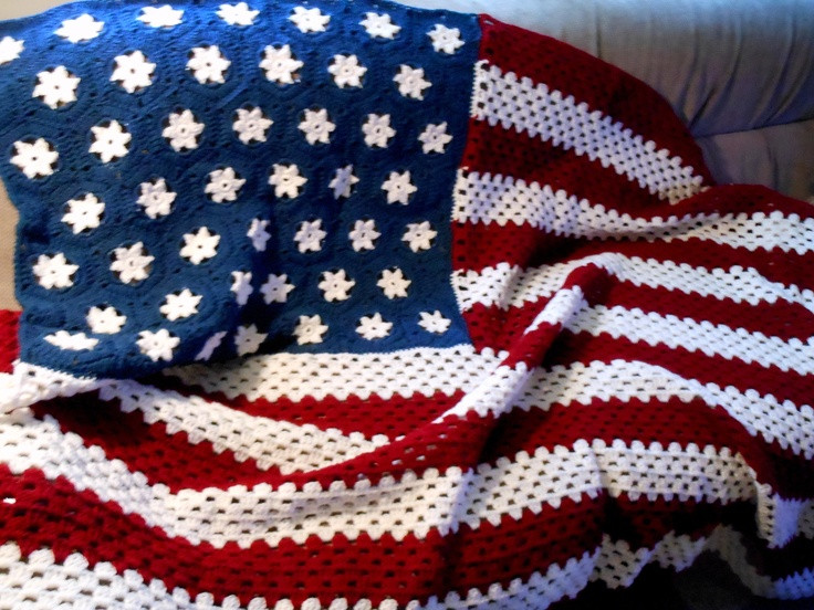 Awesome Crochet American Flag Bing Images American Flag Crochet Pattern Of Attractive 40 Pics American Flag Crochet Pattern