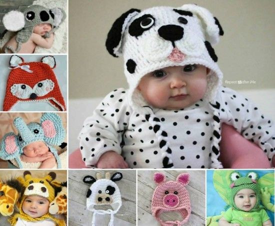 Awesome Crochet Aviator Hat Youtube Video Lots Free Pattern Baby Animal Hats Of Attractive 49 Images Baby Animal Hats