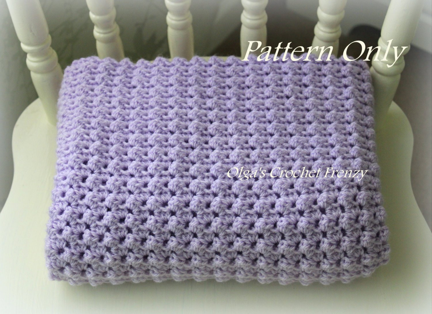 Awesome Crochet Baby Blanket Pattern Baby Afghan Easy to Make for Simple Crochet Baby Blanket Of Marvelous 48 Pictures Simple Crochet Baby Blanket