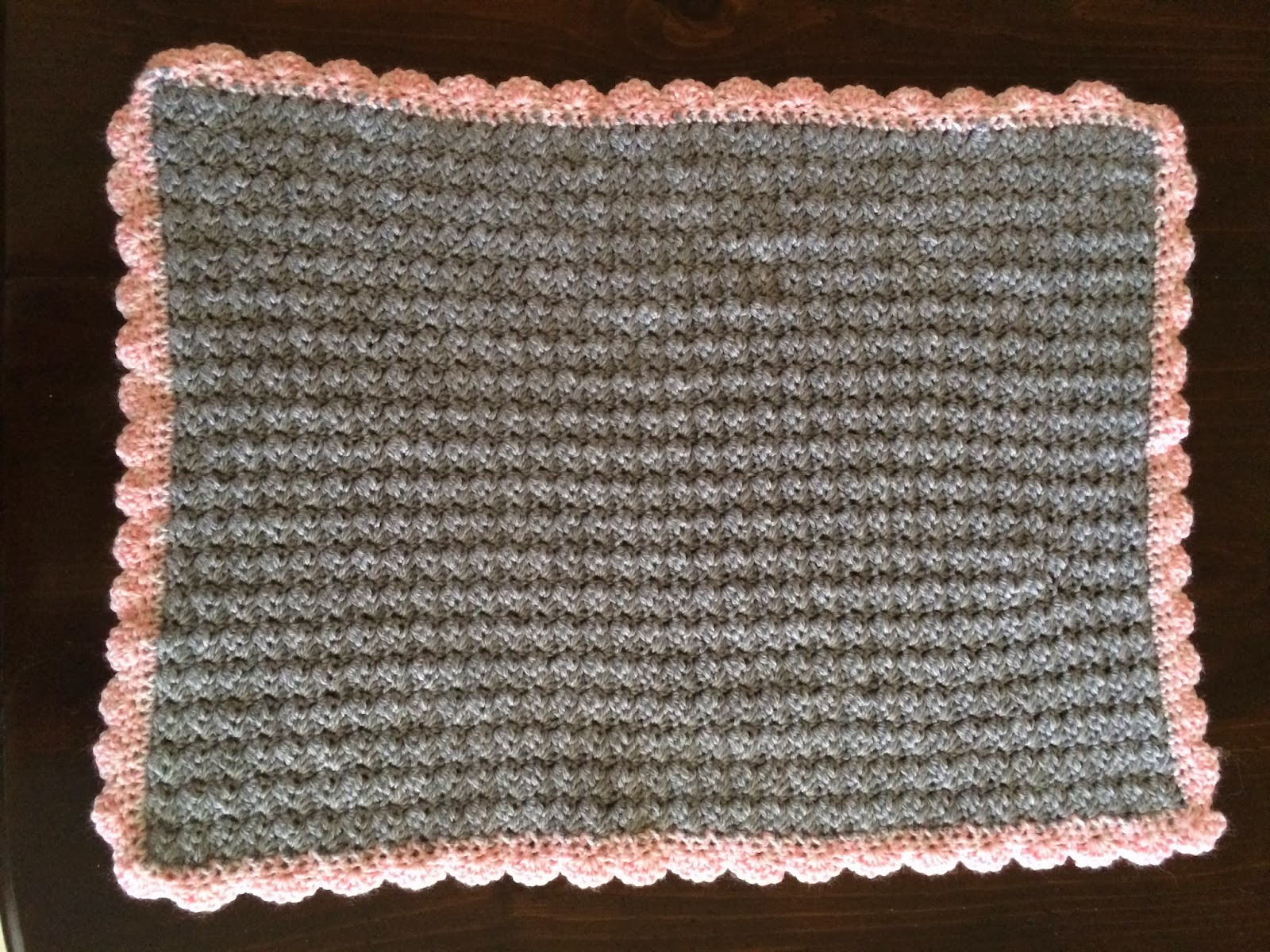 Awesome Crochet Baby Car Seat Blanket In Shell Stitch with Shell Crochet Shell Blanket Of Lovely 40 Pictures Crochet Shell Blanket