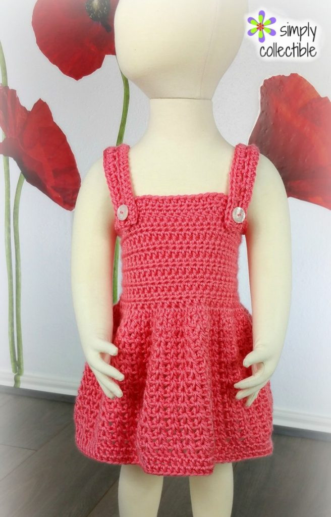 Awesome Crochet Baby Dress Archives ⋆ Free Baby Crochet Crochet toddler Dress Pattern Of Brilliant 45 Ideas Crochet toddler Dress Pattern