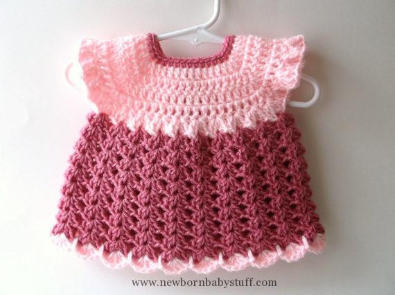 Awesome Crochet Baby Dress Items Similar to Sale Baby Dress Crochet Baby Items Of Marvelous 40 Pictures Crochet Baby Items