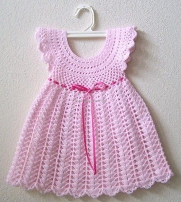 Awesome Crochet Baby Dress Patterns for Free Crochet Dress for Baby Of Amazing 42 Photos Crochet Dress for Baby