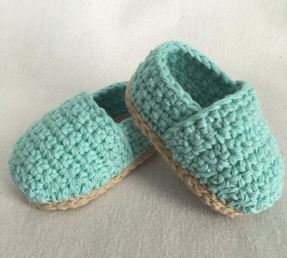 Crochet Baby Espadrilles Crochet Baby Shoes by