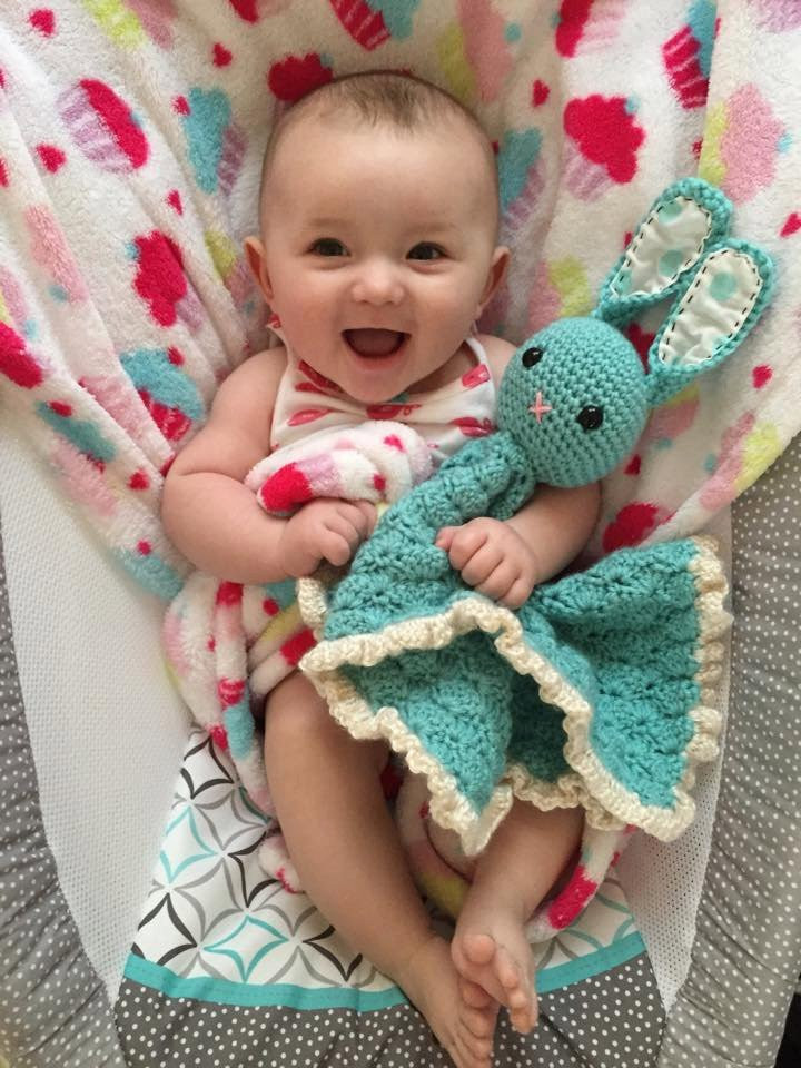Awesome Crochet Baby Lovey Bunny Blanket Crochet Shell Stitch Baby Crochet Lovey Blanket Of Attractive 46 Pics Crochet Lovey Blanket