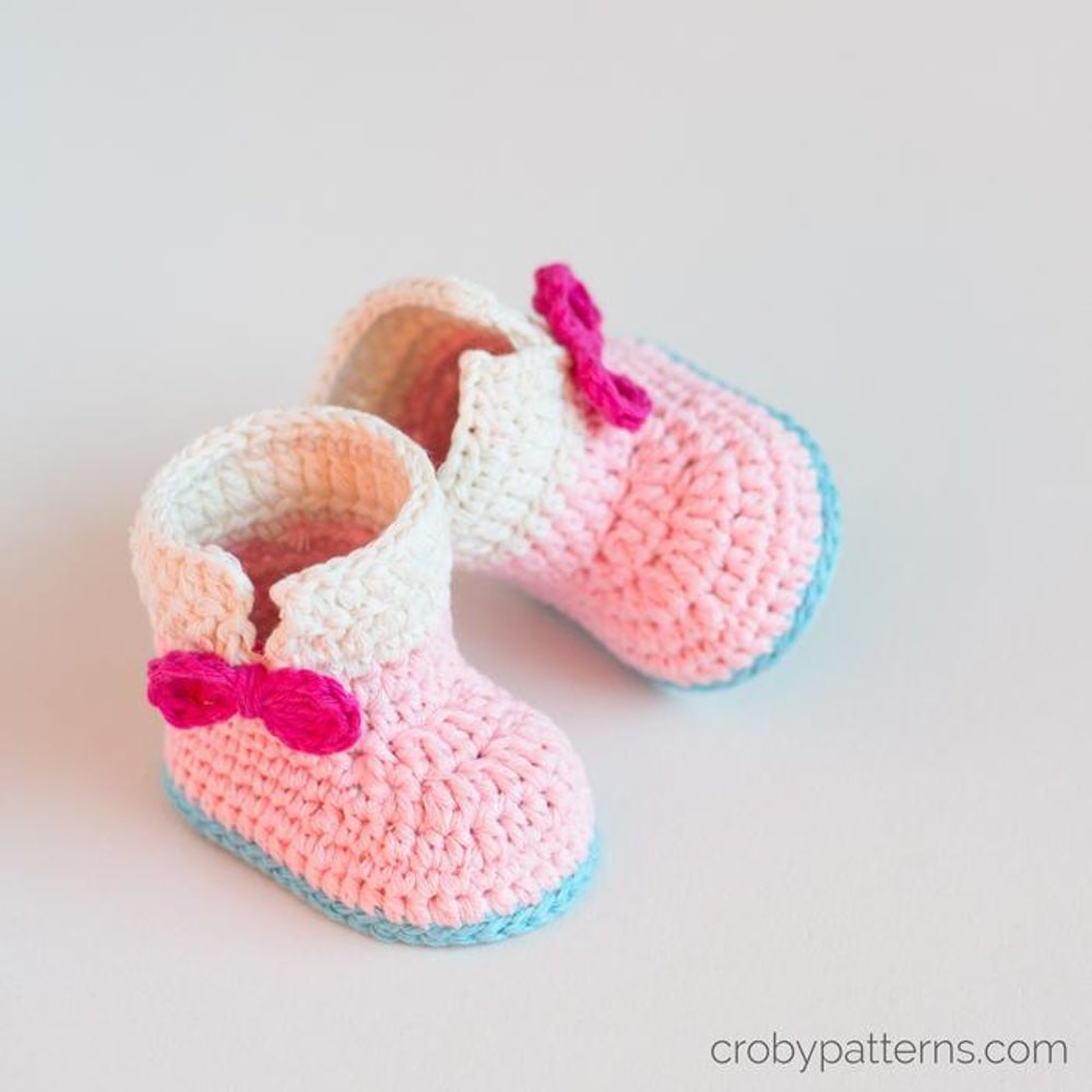 Awesome Crochet Baby Unicorn Baby Booties Crochet Pattern by Croby Crochet Baby socks Of New Berry Baby Booties Knitting Pattern Easy Crochet Baby socks