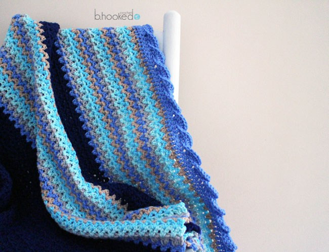 Awesome Crochet Baby Waves Afghan Free Pattern & Tutorial B Wave Crochet Pattern Of Unique 40 Models Wave Crochet Pattern