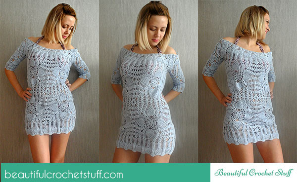 Awesome Crochet Beach Cover Up Pattern Crochet Beach Cover Up Patterns Of Adorable 47 Models Crochet Beach Cover Up Patterns