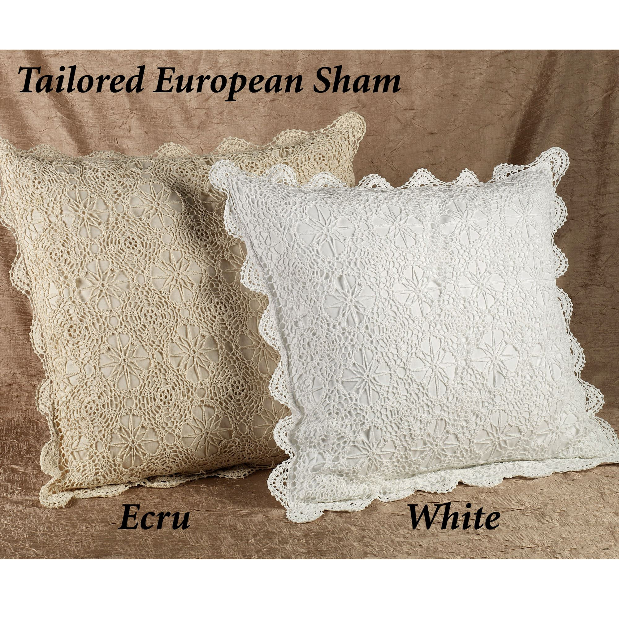 Awesome Crochet Bedskirts and Shams Crochet Pillow Shams Of Marvelous 40 Photos Crochet Pillow Shams