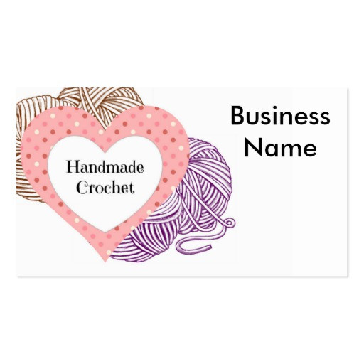 Awesome Crochet Business Card Templates Crochet Business Cards Of Superb 40 Photos Crochet Business Cards