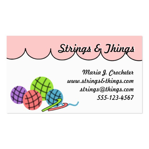 Awesome Crochet Business Card Templates Page2 Crochet Business Cards Of Superb 40 Photos Crochet Business Cards